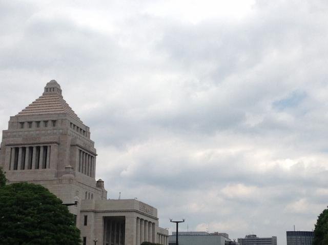 国会議事堂の写真